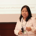 Luz Baskinas of WWF-Philippines and member of the CTI M&E Working Group