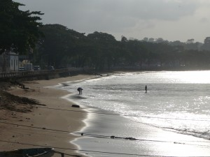 Site visits during IWC7 touched on coastal resource management (Photo from IW:Learn)