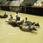 Flooding in a coastal village in Asia (ADB Photo Library)