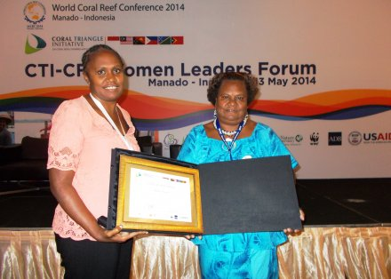 Coral Triangle Initiative Recognizes Women's Vital Role in Conservation