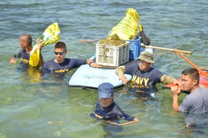 Plantation Bay Resort and Spa together, with the Philippine Navy, organized a joint underwater and beach clean up activity on June 7.