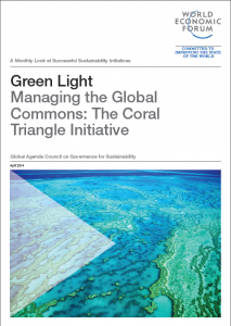 Green Light: Managing the Global Commons: The Coral Triangle Initiative