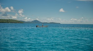 The deep blue waters of the Federated States of Micronesia. (Photo by: Tomas Eric Sales/ADB)