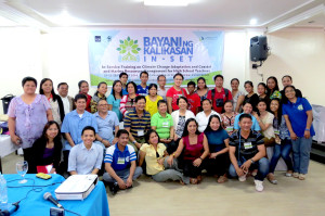 Fired up to create waves. A total of 32 teachers from 21 schools across the Palawan province attended the in-service training.