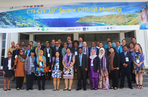 SOM10 was attended by delegates from all six Coral Triangle countries, current partners, with Brunei Darussalam as observer, and several potential development partners and collaborators.