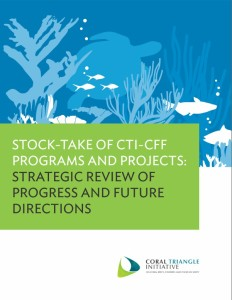 Stock-Take of CTI-CFF Programs and Projects