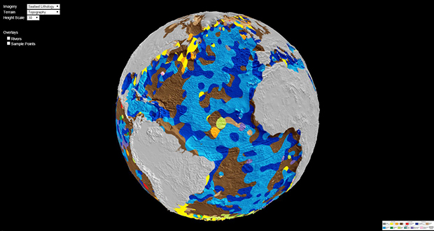 First Digital Geological Map of the World's Ocean Floor