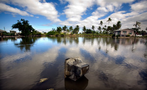 Small island states are not the only nations that will suffer from the effects of climate change. Rising sea levels are expected to inundate coastal areas across Asia and the Pacific, disrupting the lives of millions of people. (Photo from: ADB Photo Library)