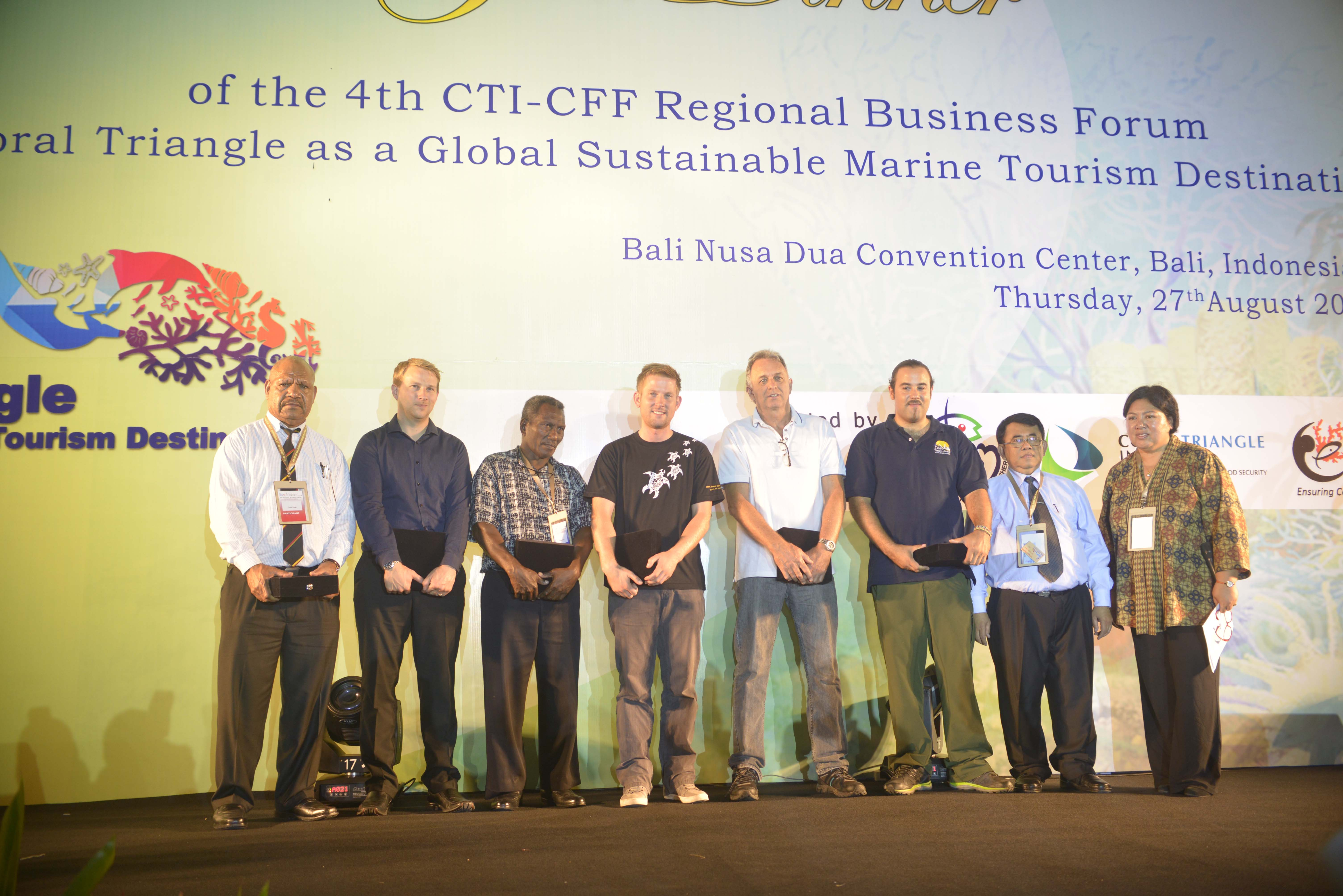 Six Entrepreneurs Recognized for Promoting Sustainable Marine Tourism in the Coral Triangle