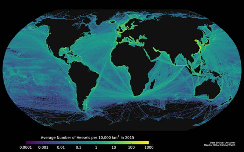 How Satellites and Big Data Can Help to Save the Oceans
